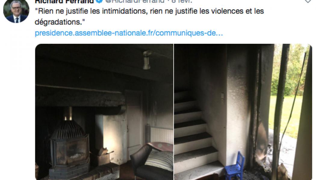 Incendie du domicile de Richard Ferrand : des incohérences