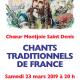 """23 mars : Récital """"Chants traditionnels de France"""""""