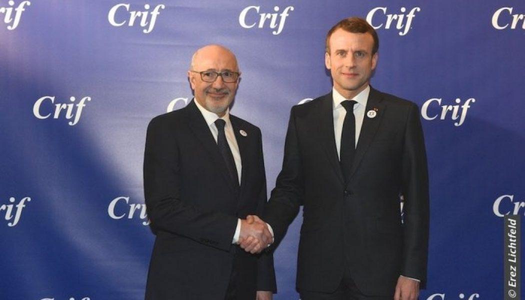 Variations sur un paroxysme dans la France macroniste à l'occasion d'actes antisémites