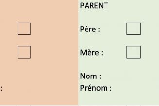 """Parent 1"", ""parent 2"" supprimé en 2e lecture ?"