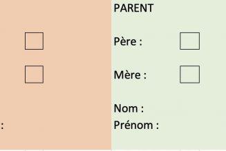 """""""Parent 1"""", """"parent 2"""" supprimé en 2e lecture ?"""