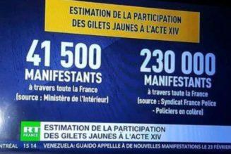 Dominique Rizet affirme que les chiffres de mobilisation des GiletsJaunes communiqués par le Ministère de l'Intérieur sont faux