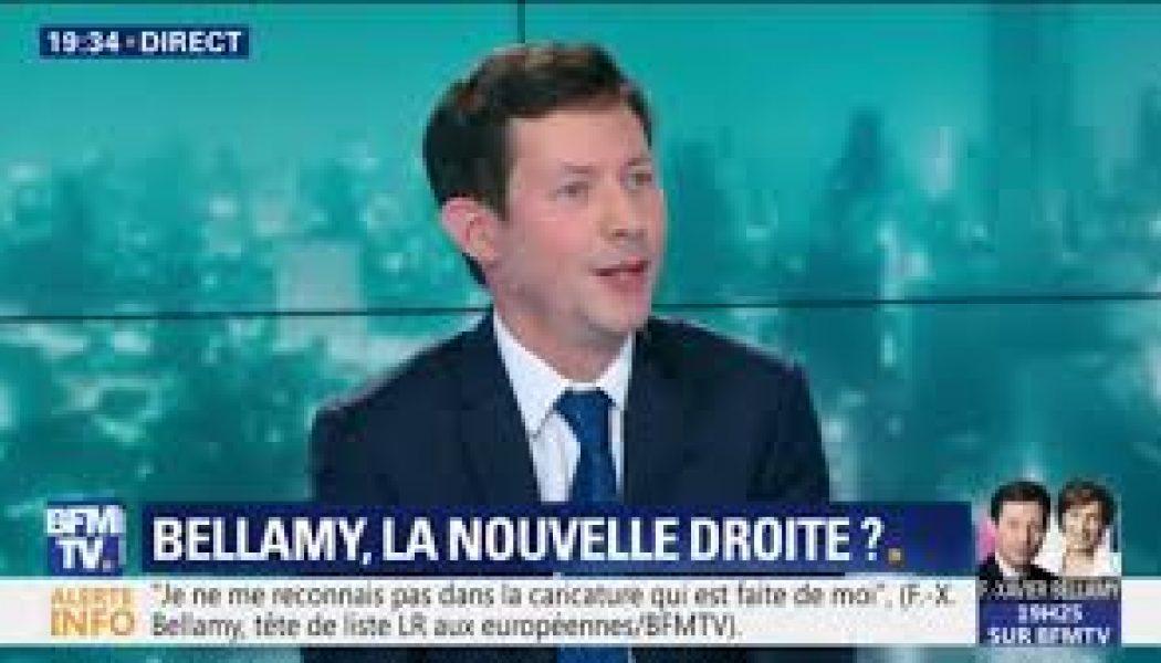 François-Xavier Bellamy se dit plus proche de Macron que de Marine Le Pen pour les européennes