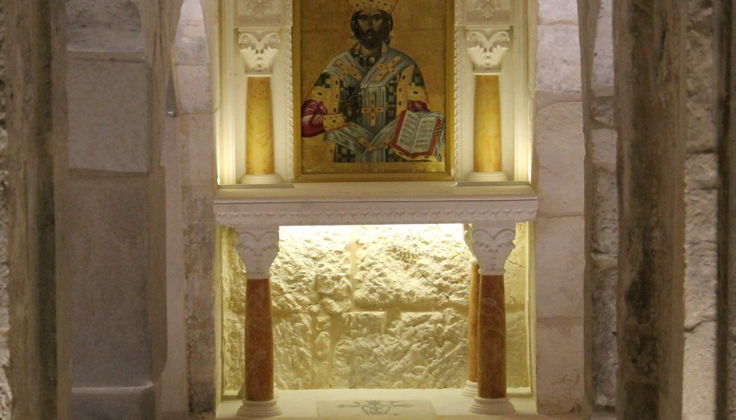 Saint-Sépulcre : la prison du Christ de nouveau ouverte
