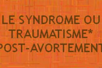 Traumatisme post-avortement : déni de réalité en France, étude scientifique en Allemagne