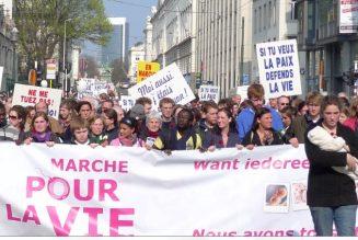 31 mars : Marche pour la vie à Bruxelles