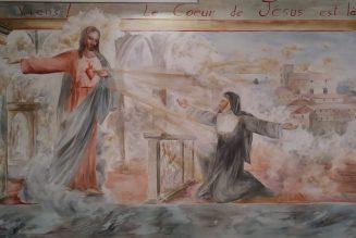 Une nouvelle fresque pour la Basilique du Sacré Coeur à Marseille