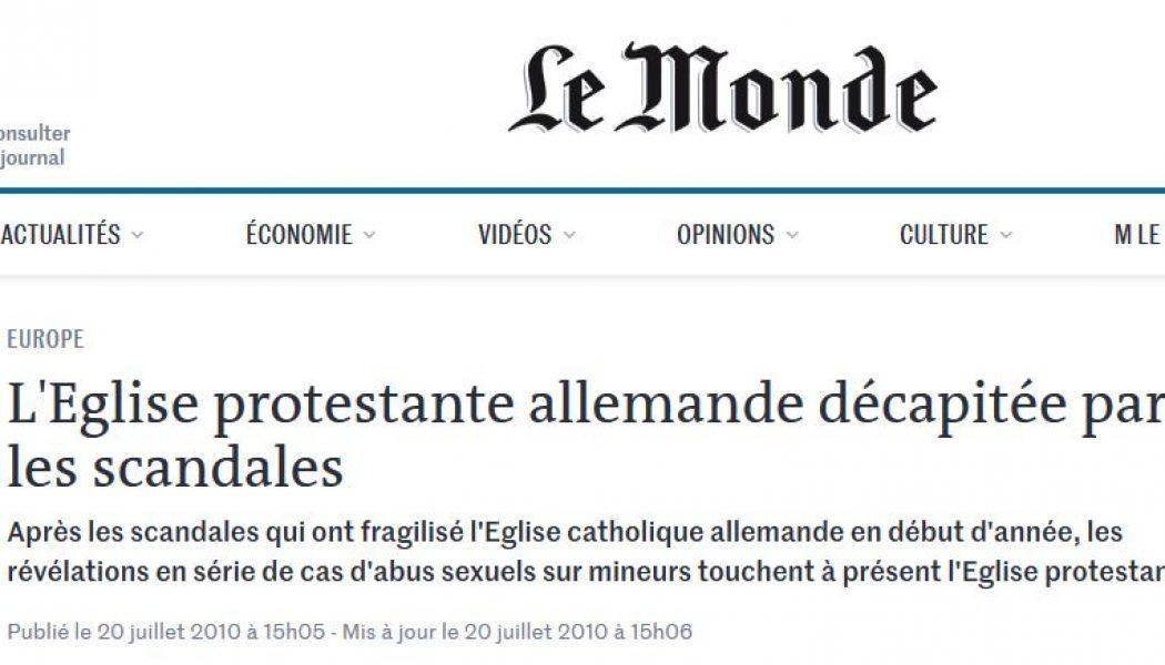 Gérard Courtois, directeur éditorial du journal Le Monde, ne lit pas souvent… Le Monde