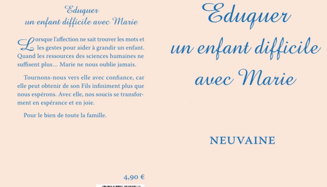 ef4a7d4a1b14c Eduquer un enfant difficile avec Marie - Le Salon Beige