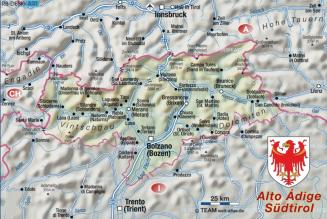 Pèlerinage en Italie du Nord (23 juillet – 2 août 2019) : Tyrol du Sud, Vénétie