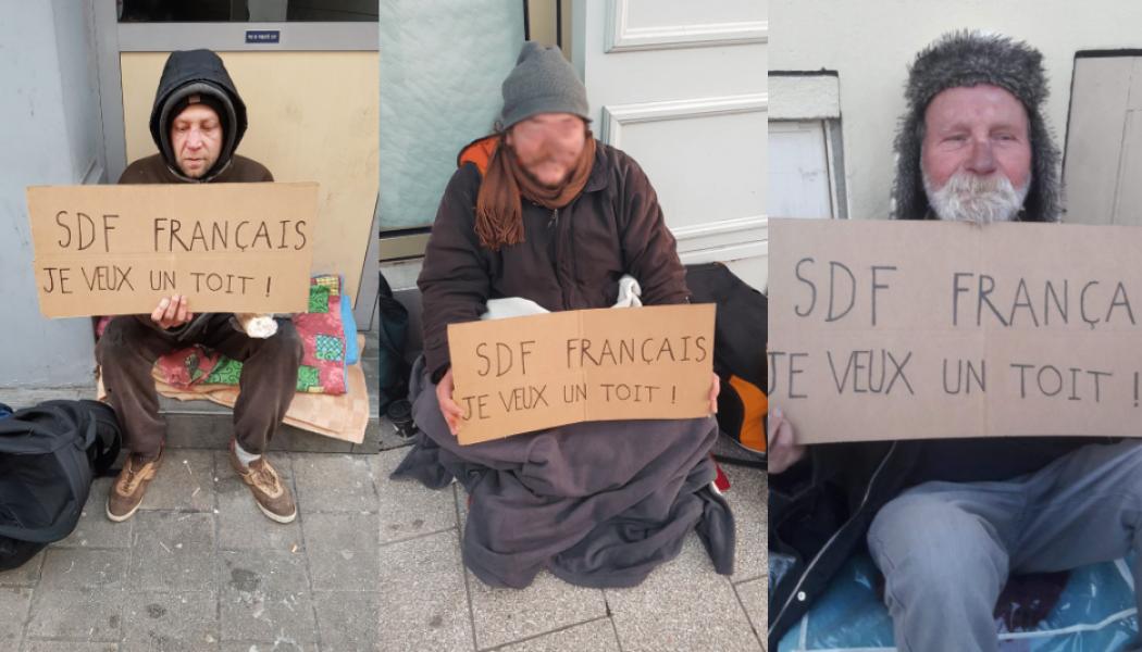 Angers : rien pour les SDF, tout pour les clandestins