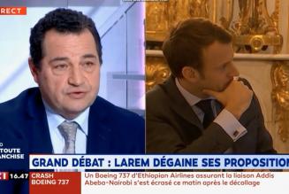 """Coup de gueule de Jean-Frédéric Poisson sur LCI : """"il faut un changement profond de politique"""""""