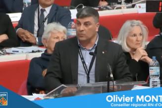 Olivier Monteil (RN) interpelle Carole Delga (PS) sur la multiplication des actes anti-chrétiens