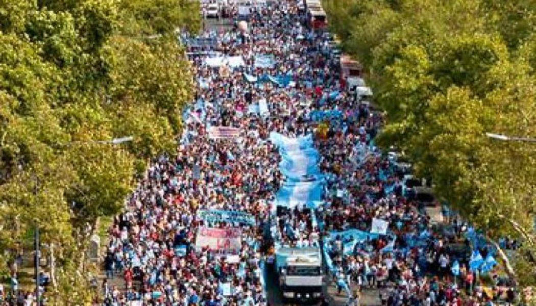 Plus d'un million de personnes à la Marche pour la vie en Argentine