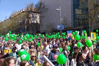 Marches pour la vie en Espagne et en Roumanie