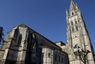 Profanation de la basilique Sainte-Eutrope à Saintes