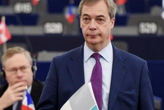 """Nigel Farage est de retour : """"Ça suffit !  Nous voulons nous gouverner nous-mêmes !"""""""