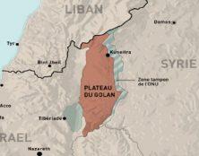 Après Jérusalem, maintenant le Golan, bientôt la Cisjordanie ?