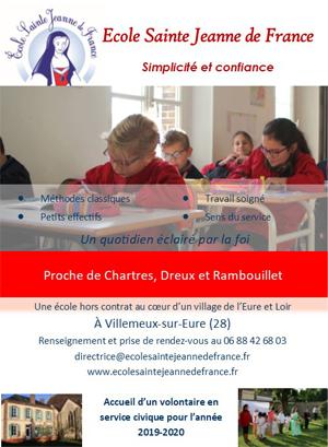 École Sainte Jeanne de France