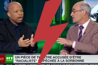 Jean-Yves Le Gallou défend la liberté d'expression dans un débat face Georges Tin, président du Cran