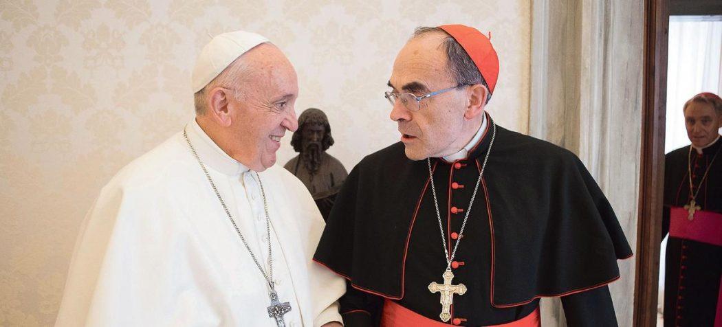 Le pape accepte la démission du cardinal Barbarin