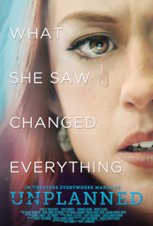 Le film Unplannedsorten DVD