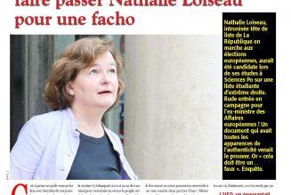 Nathalie Loiseau chez les fachos : quand Mediapart recopie Minute