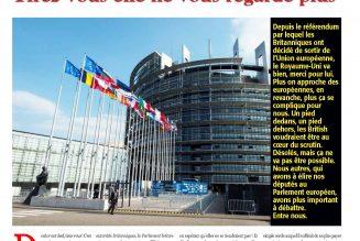 Bellamy va siéger au Parlement européen avec tous les responsables des reniements qu'il dénonce