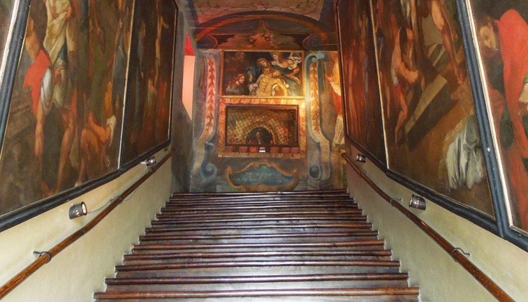 Restauration de la Scala Santa