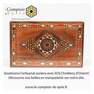 Soutenez l'artisanat Syrien