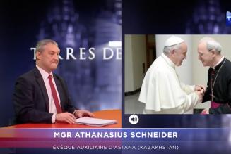 Terres de Mission : Mgr Schneider a rencontré le pape François