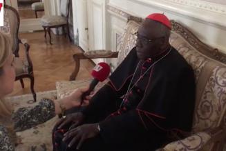 """Le cardinal Sarah répond à Boulevard Voltaire :  """"L'Occident est en grand péril"""""""