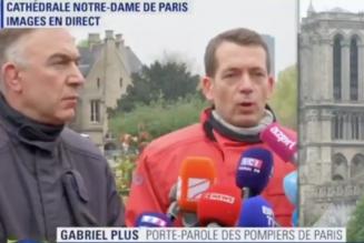 Les pompiers de Paris s'engagent la plupart du temps pour protéger des personnes. Là, il fallait préserver ce qui pouvait l'être, donc faire des choix