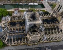 Les cendres sur l'Ile de la Cité nous rappellent les cendres spirituelles de l'Europe