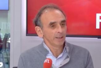 """Éric Zemmour sur Macron : """"Il me donnait l'impression d'un stagiaire de l'ENA qui a découvert la France"""""""