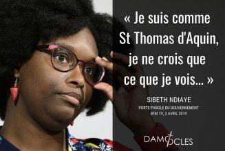 Sibeth Ndiaye veut citer saint Thomas… mais se trompe de saint