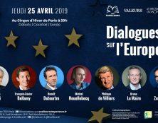 25 avril : ce n'est pas une soirée électorale mais une confrontation d'idées divergentes sur l'Europe