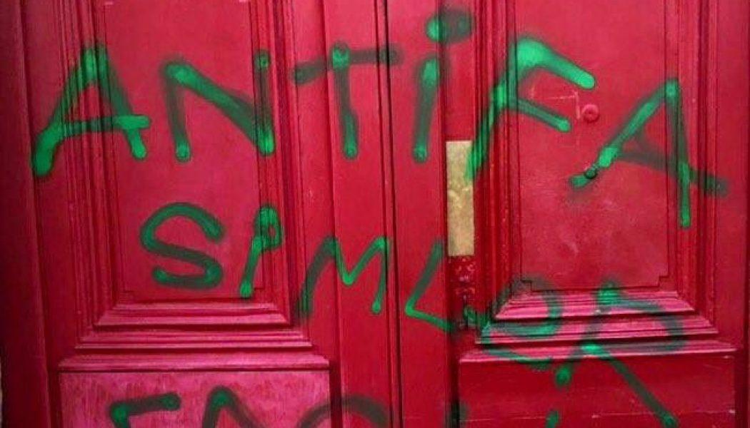 Le domicile du responsable des Jeunes Républicains de Loire-Atlantique pris pour cible par des activistes d'extrême-gauche