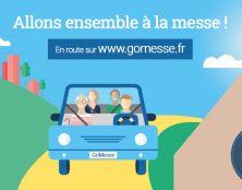 Gomesse.fr  la 1ère plateforme web de covoiturage pour aller à la messe