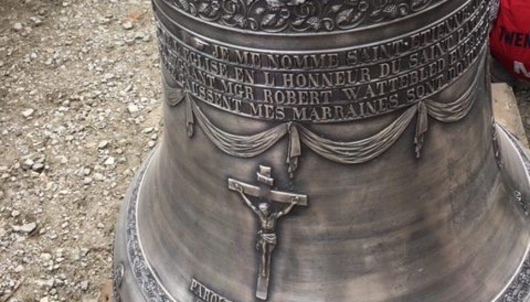 De nouvelles cloches pour l'église Saint-Etienne à Anduze (30)