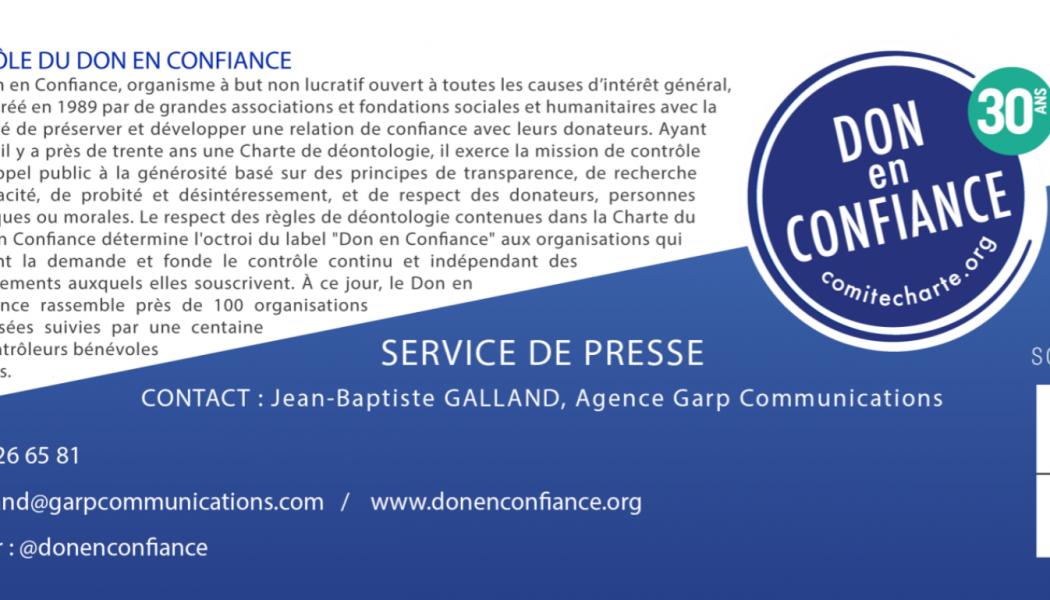Appel à générosité pour Notre-Dame de Paris – Donner en confiance