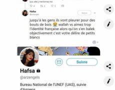 L'AGRIF engage des poursuites contre Hafsa de l'UNEF