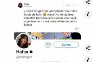 L'AGRIF engage des poursuites contre Hafsa de l'UNEF