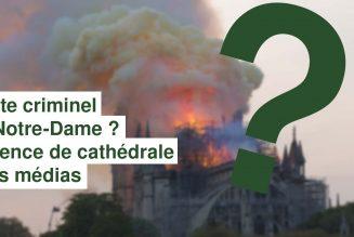 I-Média – Possible acte criminel ? Silence de cathédrale des médias