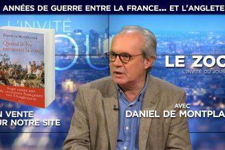 Daniel de Montplaisir : 749 années de guerre entre la France… et l'Angleterre