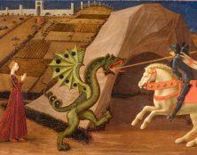 Le petit chaperon rouge, La belle au bois dormant, la Légende de saint Georges retirés d'une bibliothèque