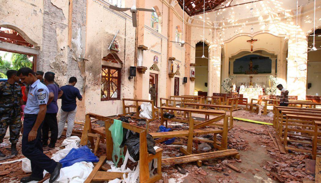 Attentats terroristes au Sri Lanka contre des chrétiens dans des églises Pâques 2019 Srilanka-1050x600