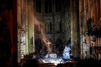 « Que la vision de Notre-Dame de Paris sous l'emprise des flammes ne soit pas vaine. »