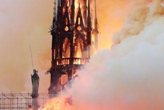 L'incendie de Notre-Dame, quel qu'en soit l'origine, serait donc un message envoyé par la Vierge