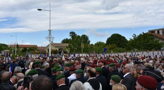 Inauguration de la rue Hélie de Saint Marc à Bollène